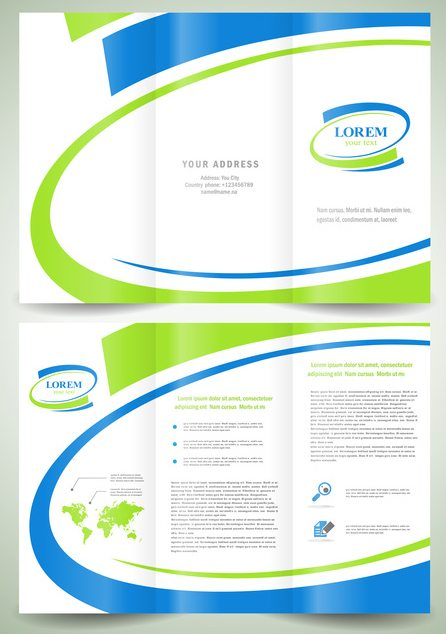 tri fold brochure printing how to make a brochure print three