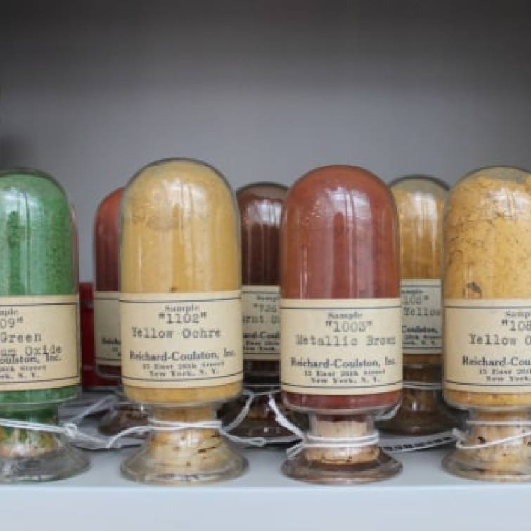 the-rarest-colors-in-the-harvard-pigment-library