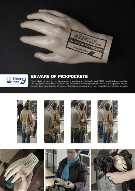 brussels-airlines-pickpocketing-promotional-product